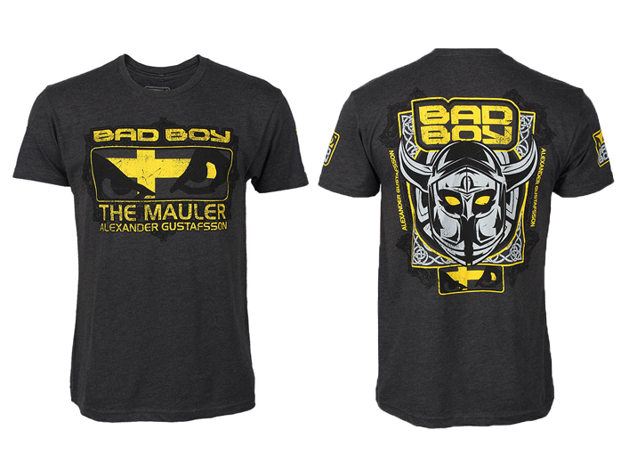 T-shirt-walkout-Alexander-Gustafsson-Bad-Boy-black
