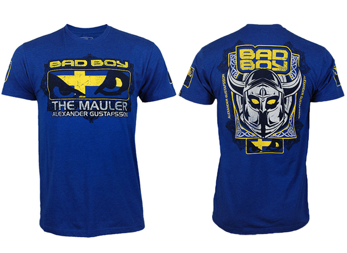 T-shirt-walkout-Alexander-Gustafsson-Bad-Boy-blue