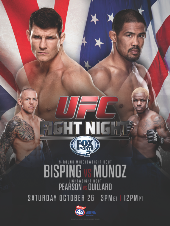 UFC FIGHT NIGHT BISPING MUNOZ