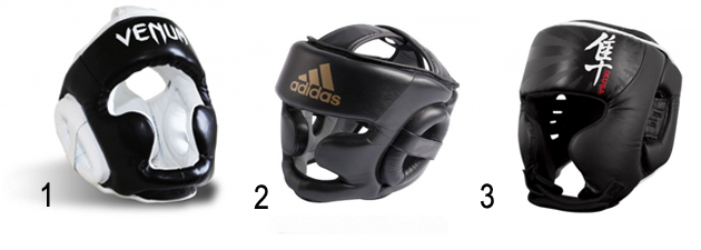 Casques sparring boxe mma