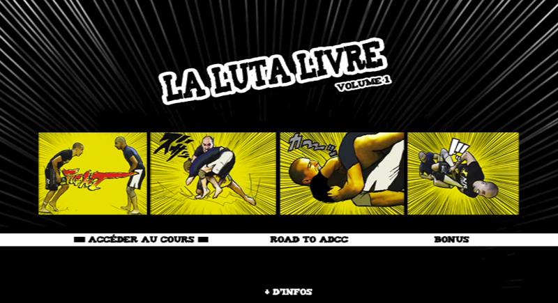 DVD La Luta Livre Vol 1 Nicolas Renier-15
