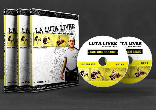 DVD Nicolas Renier La Luta Livre