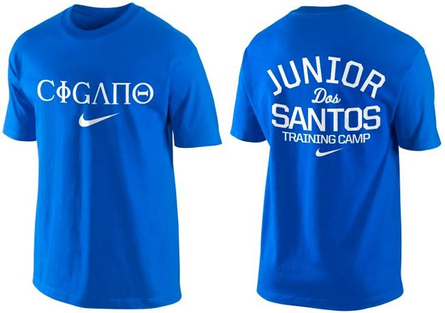 JDS CIGANO Walkout t-shirt NIKE Blue edition