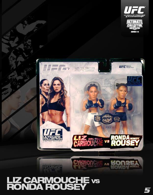 Ronda Rousey Liz Carmouche Round 5 Series 14