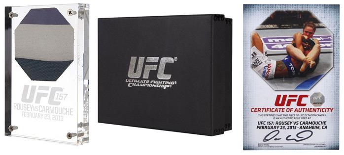 UFC 157 morceau de l'octogone