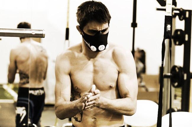 Carlos Condit Elevation Training Mask