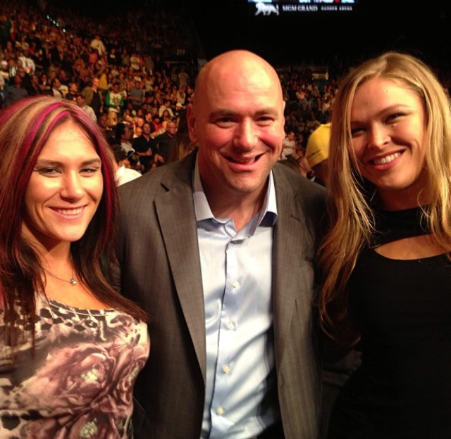 Cat Zingano vs Ronda Rousey