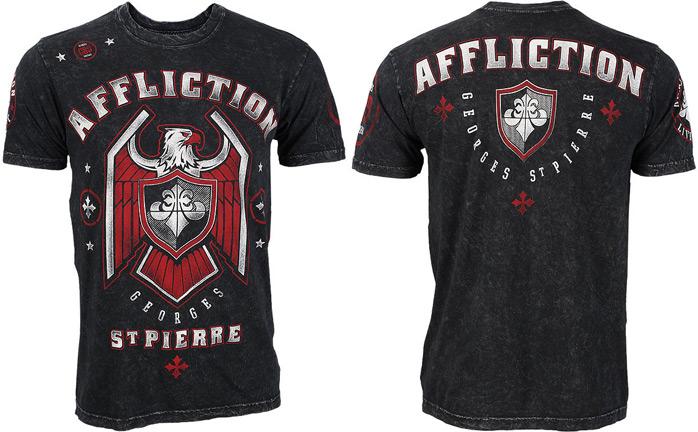 GSP Affliction UFC 167 Georges The Rush Saint Pierre Black
