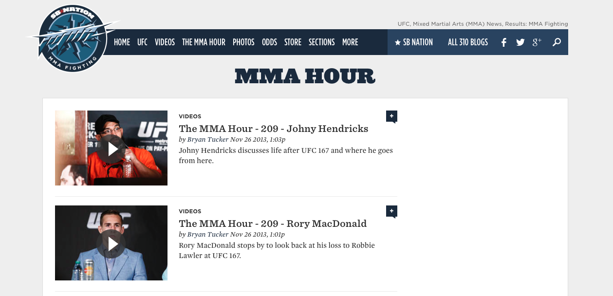MMA Fighting The MMA Hour