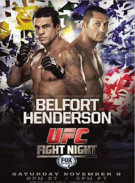 UFC Fight night 32 Belfort_vs_Hendo