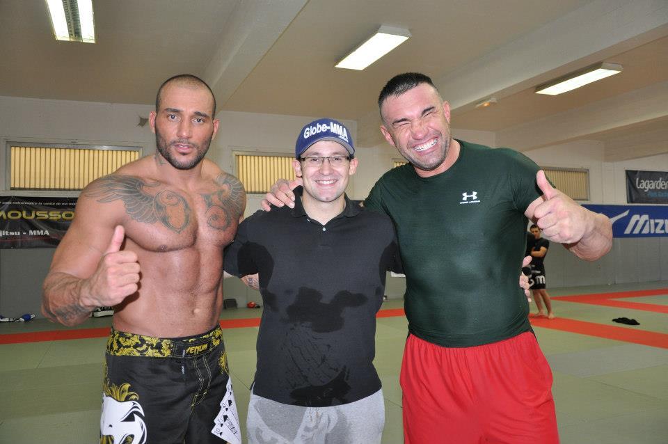 Avec JLB et Kamel Tatouage