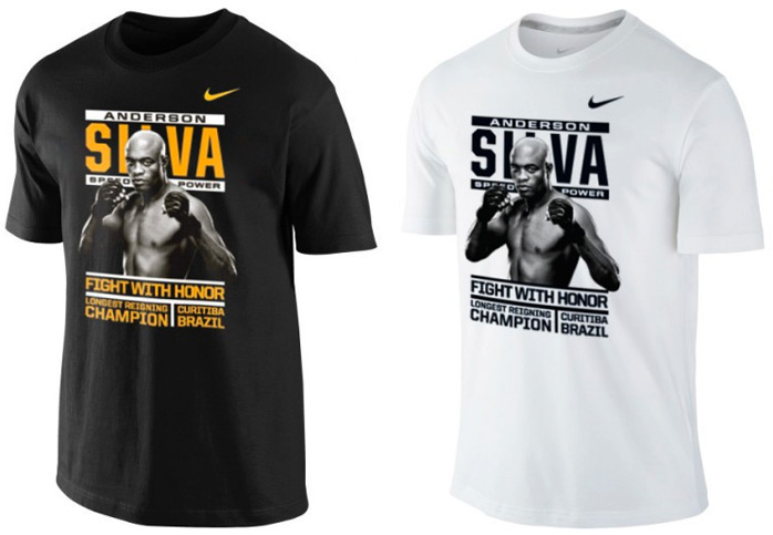 Anderson Silva Nike UFC 168