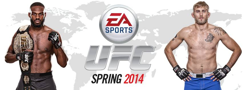 EA Sports UFC Jon Jones Alexander Gustafsson