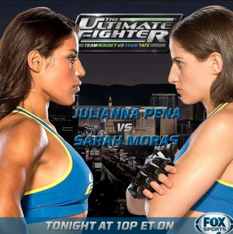 Julianna Pena vs Sarah Moras