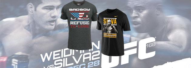 T-Shirt-walkout-UFC-168-Silva-vs-Weidman