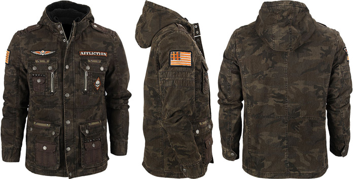 Affliction Army Jacket