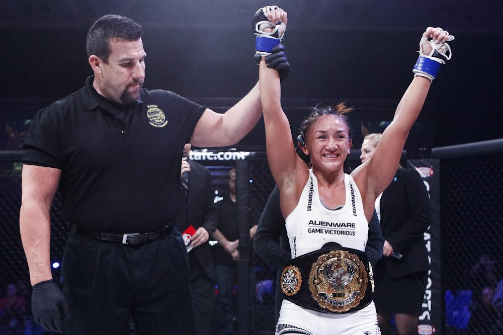 Carla Esparza wins