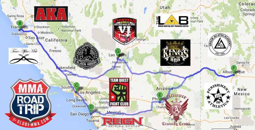 Globe-MMA-USA-MMA-Road-Trip-2014
