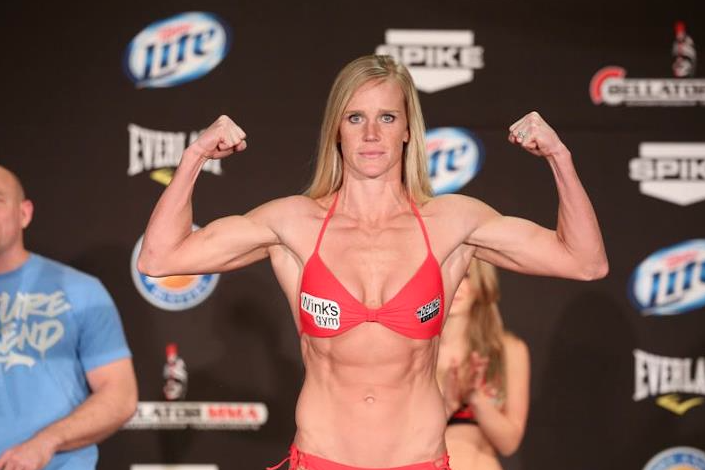 Holly Holm weight in