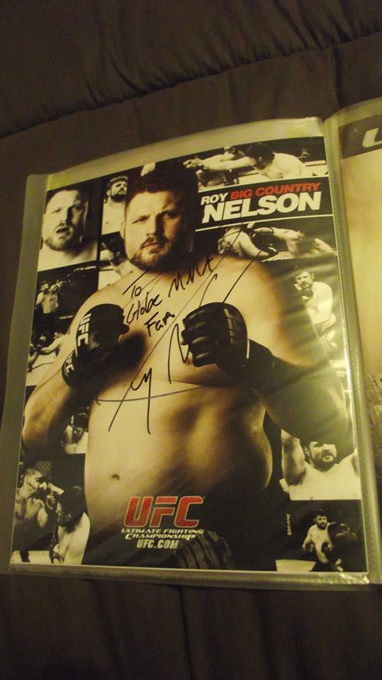 Roy Nelson Kevin Tahon