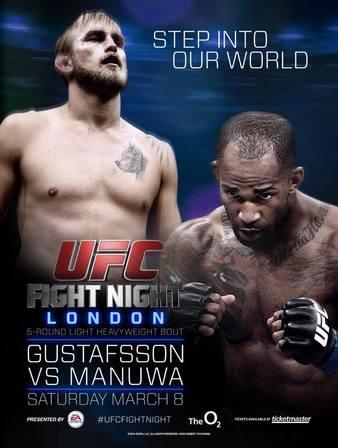 UFC Fight Night 37 Gustafsson vs Manuwa