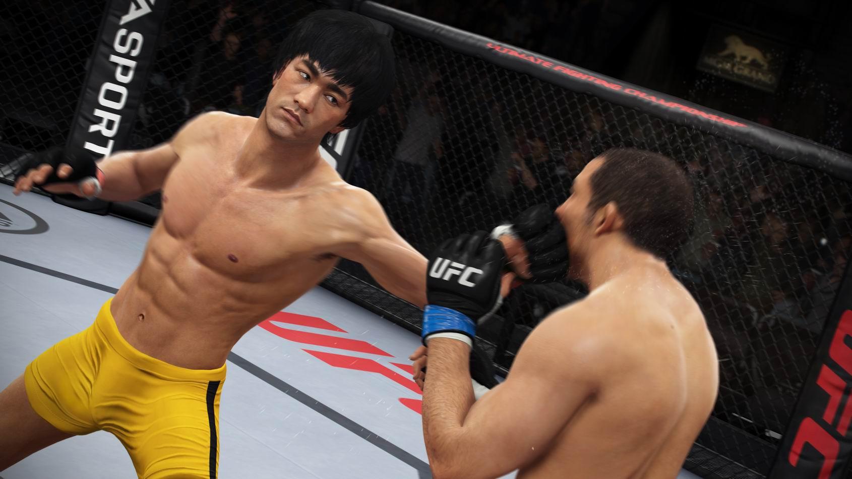 Bruce Lee EA Sports UFC