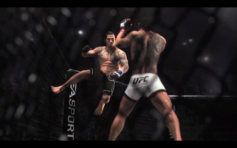 EA Sports UFC Gameplay 2