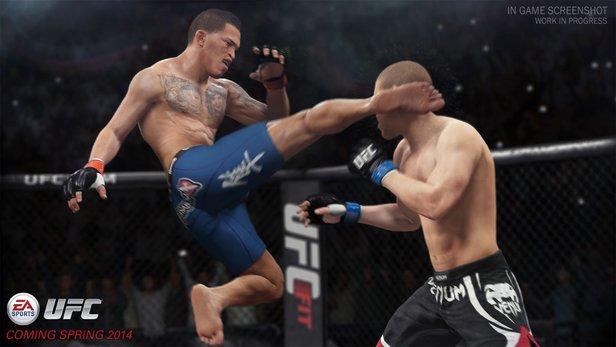 EA Sports UFC Gameplay 3