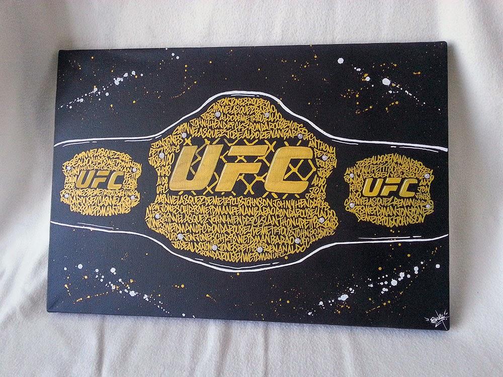 UFC Belt Oskunk
