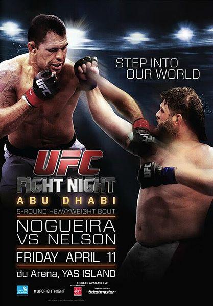 UFC Fight Night 39 Abu Dhabi