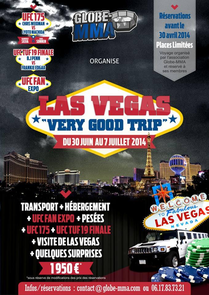 UFC Fight Week Las Vegas Globe MMA