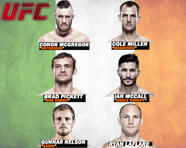 Fight-Card-UFC-Fight-Night-46-Dublin