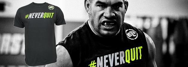 T-shirt-Never-Quit-Tito-Ortiz