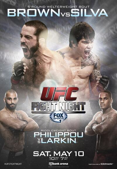 UFC Fight Night 40 Silva vs Brown