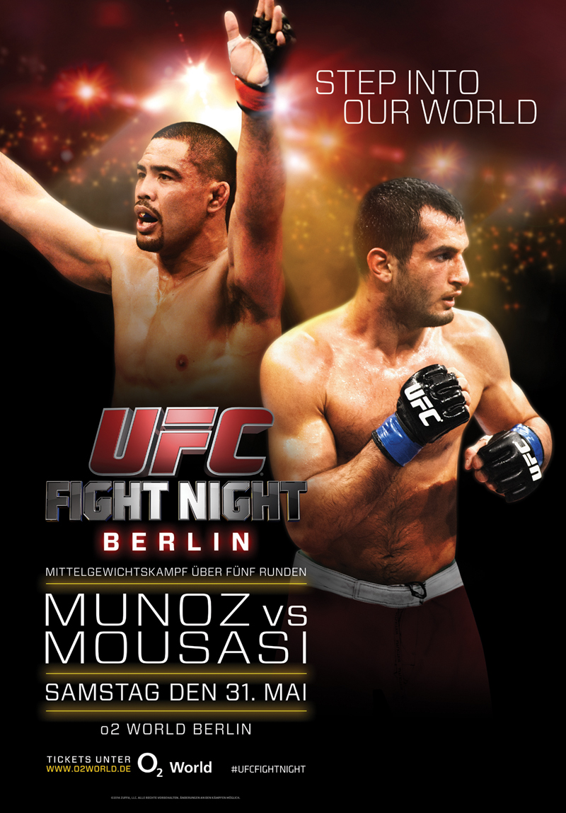 UFC Fight Night Berlin Munoz vs Mousasi