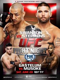 UFC Fight Night San Antonio Swanson vs Stephens