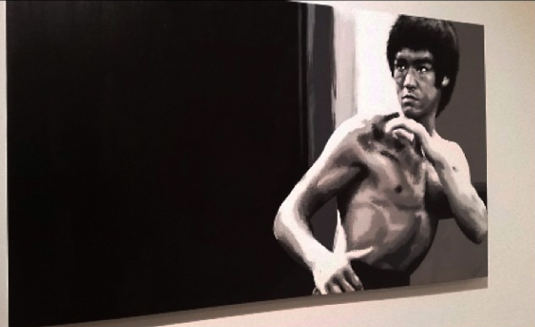 Bruce-Lee-Paintings-by-Brittney-Palmer