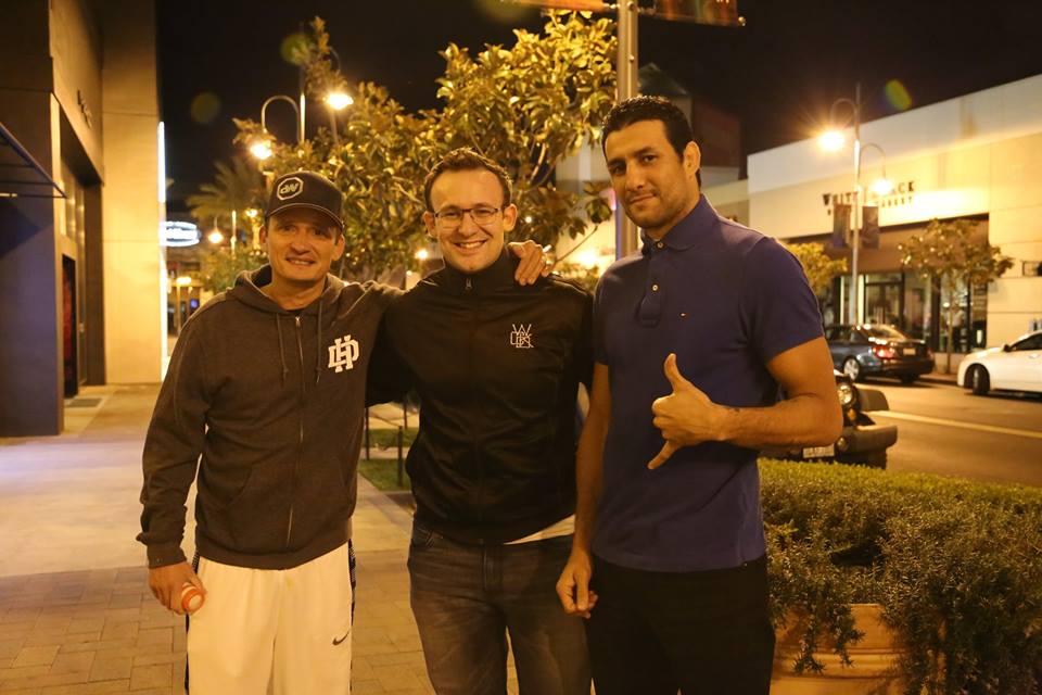 JB Globe MMA Mehdi Baghdad Daniel Woirin