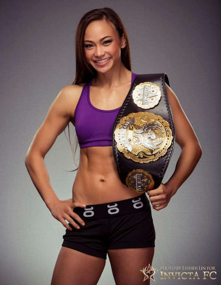 Michelle Waterson Champion