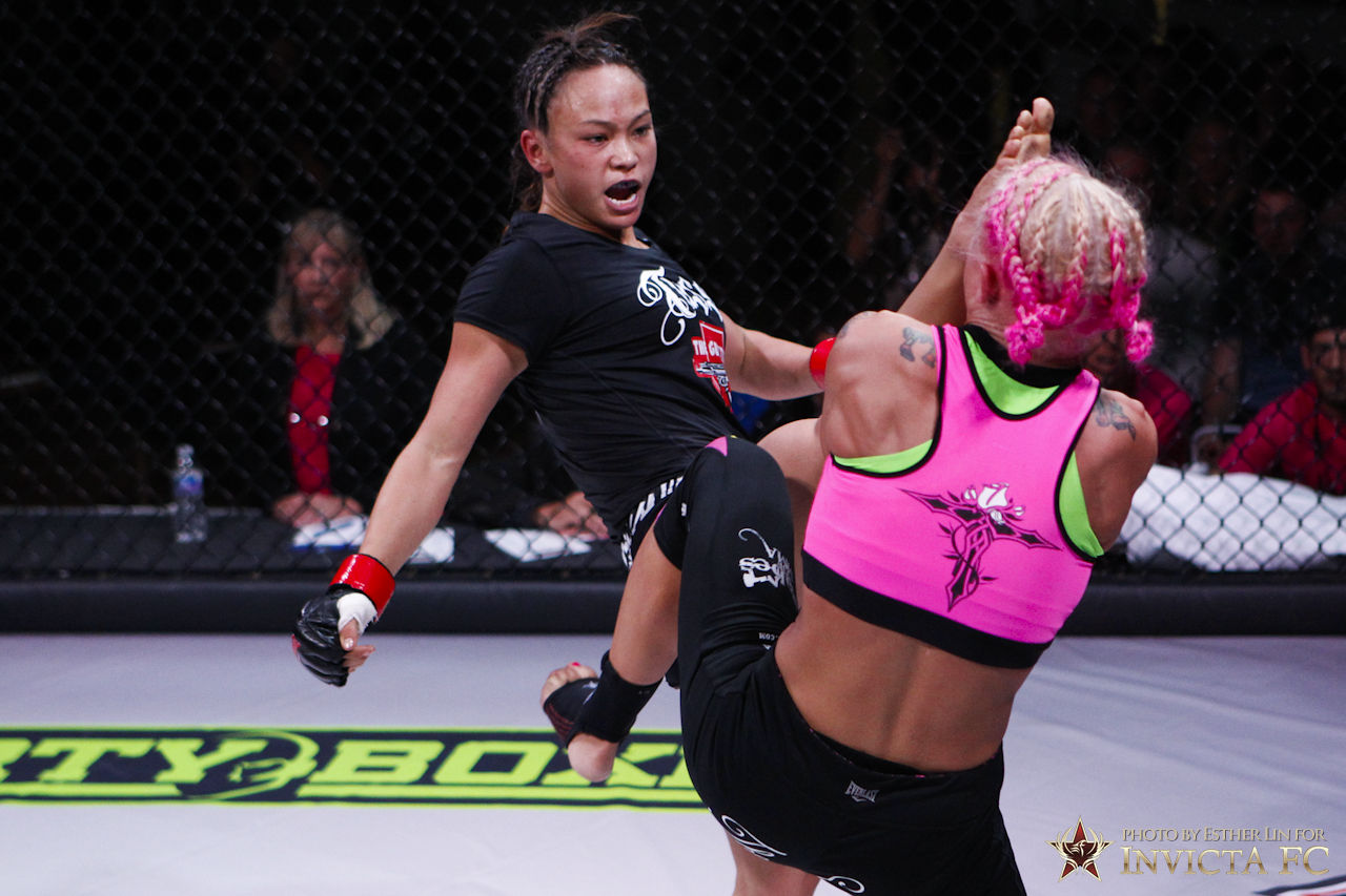 Michelle Waterson vs Lacie Schuckman