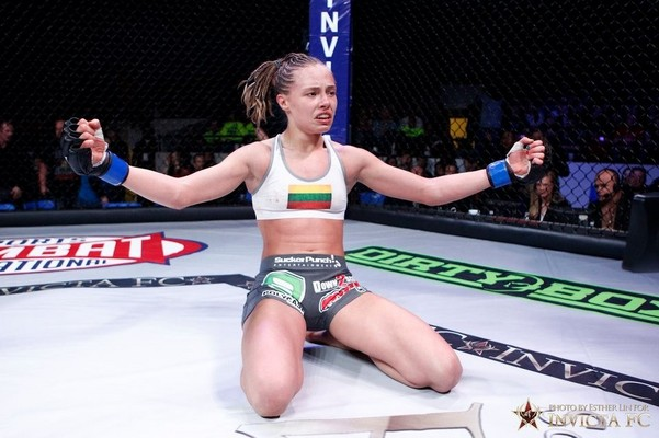 Rose Namajunas Invicta