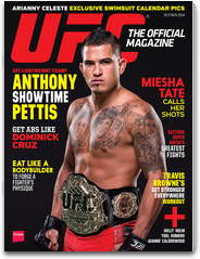 UFC the official magazine octobre novembre