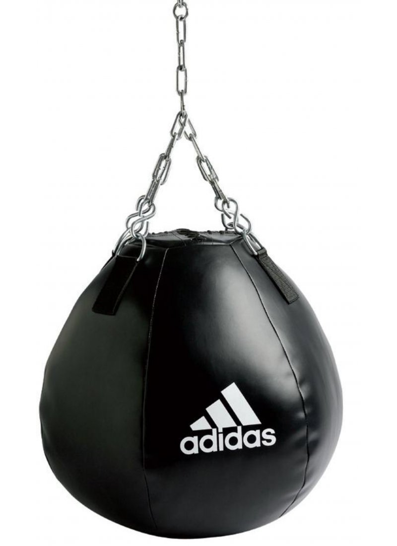 Test wrecking ball adidas globe mma for Sac de frappe pour exterieur
