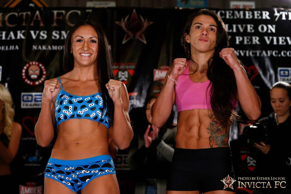 Claudia Gadelha Carla Esparza Weight In