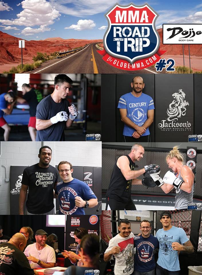 Globe MMA USA Road Trip