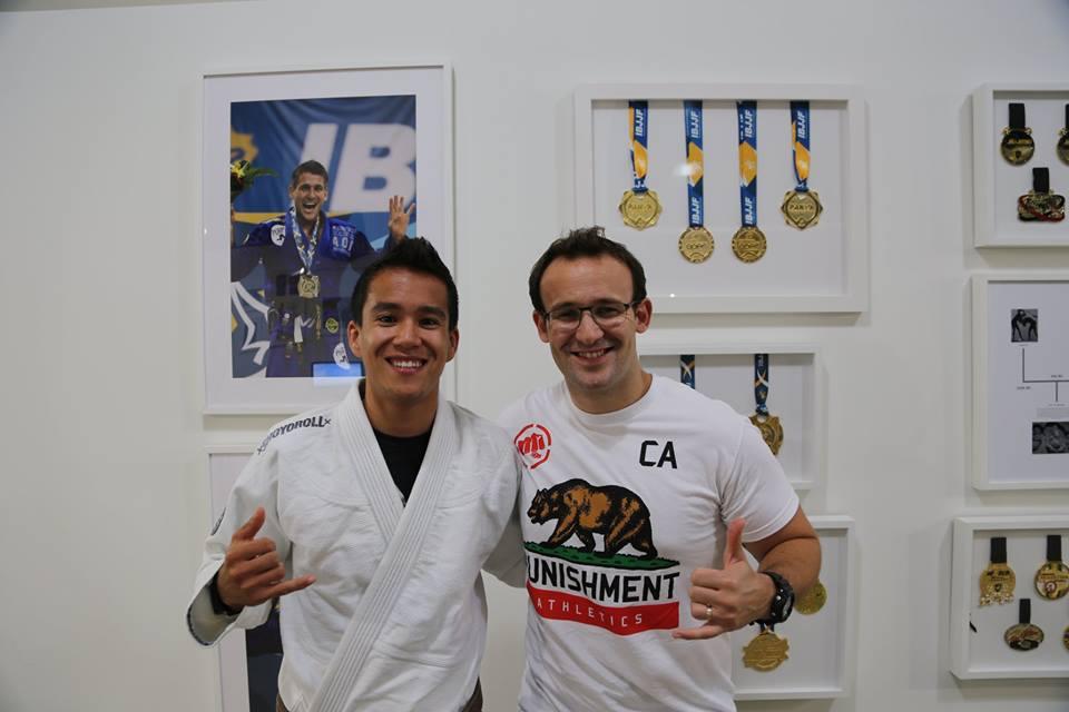 JB Globe MMA et Vincent Nguyen AOJ
