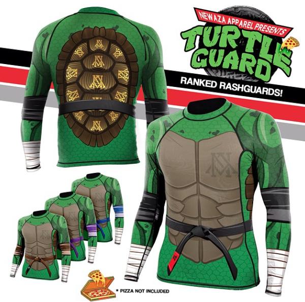 Newaza Apparel Rashguard Turtle Ninjas