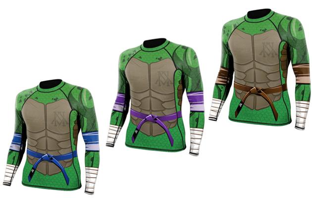 Rashguard-Ninja-Turtles-Newaza-Apparel-Blue-Purple-Brown