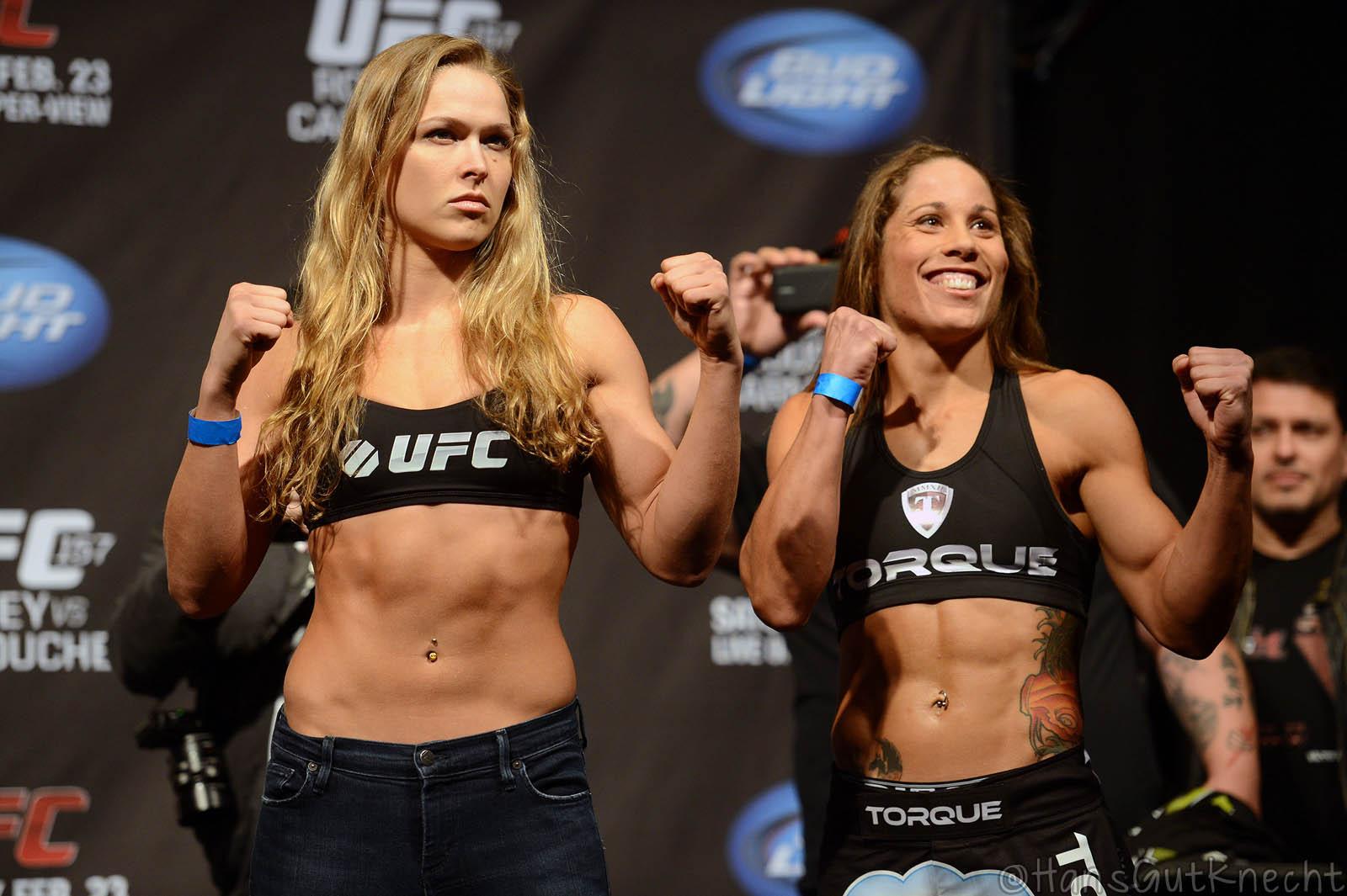UFC 157 Rousey vs Carmouche