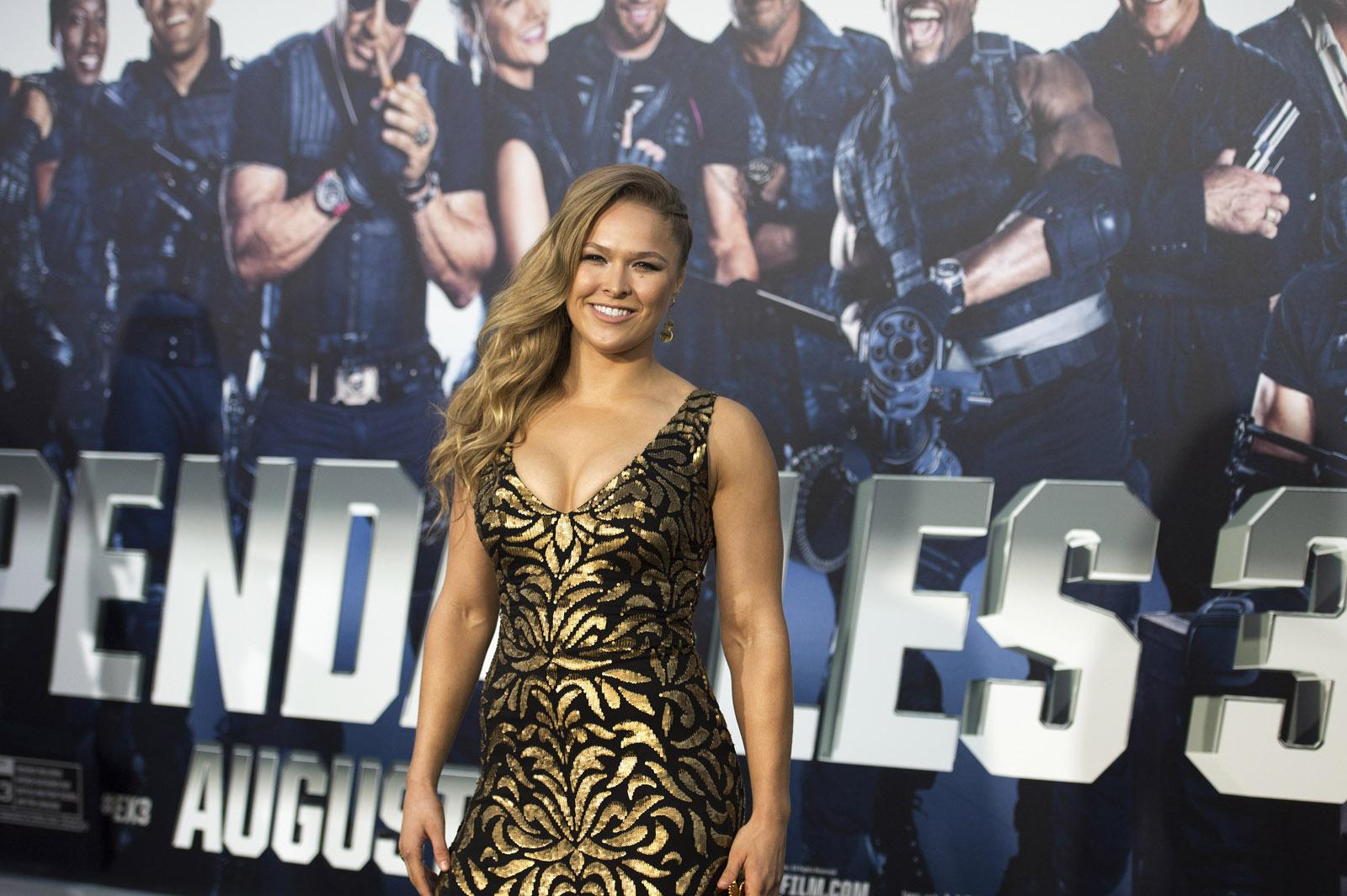 Ronda Rousey premiere Expandables 3